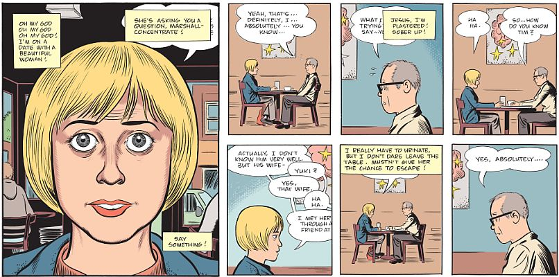 Mister Wonderful; Daniel Clowes
