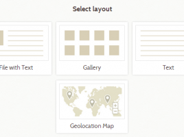 geolocation layout