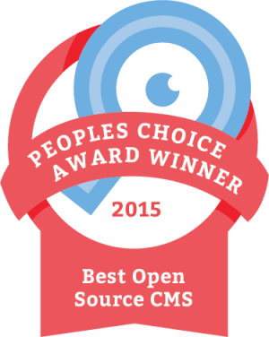 Best open source CMS 2015